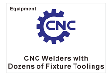 Welding machine with tools